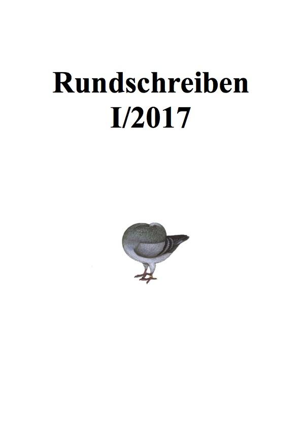 Rundschreiben 1/2017