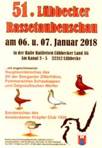 51. Lübbecker Rassetaubenschau